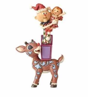 Jim Shore Rudolph with Misfits Toys Christmas Figurine 4058341 Reindeer New