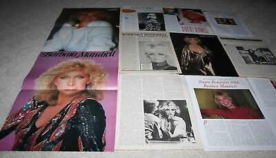 LOT of 30+ BARBARA MADRELL LOUISE MADRELLS Magazine Article Photo Clippings 001