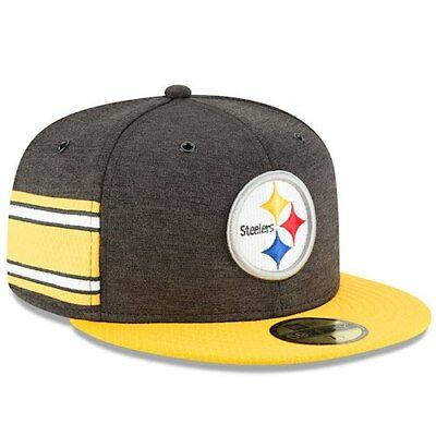 3c89e9581 Pittsburgh Steelers New Era 2018 NFL Sideline Home Official 59FIFTY Fitted  Hat -