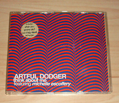 CD Maxi-Single - Artful Dodger - Thing about me - feat. Michelle Escoffery