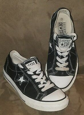 Converse One Star Tennis Shoes Womens Size 5.5 Low Top