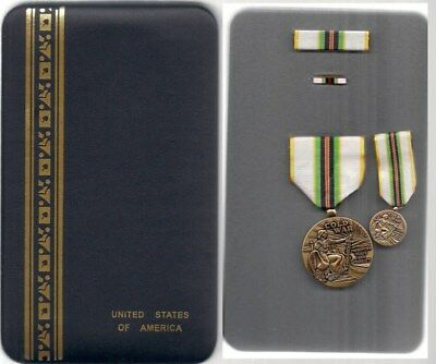 Us Cold War Service Medal 4Pcs In Case Gtc