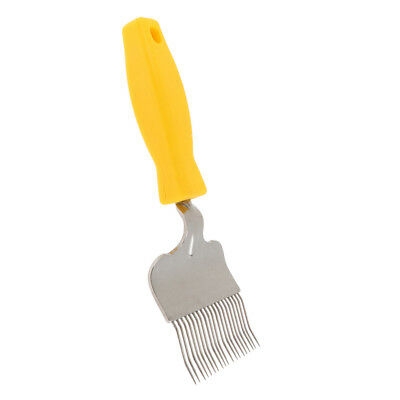 Beekeeping Honey Comb Stainless Steel Tine Uncapping Fork Hive Scraper