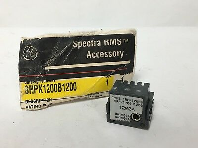General Electric GE SRPK1200B1200 Circuit Breaker Rating Plug 1200A Spectre RMS