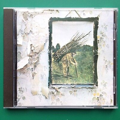 Led Zeppelin UNTITLED CD 71 Jimmy Page Robert Plant Stairway to Heaven Black Dog