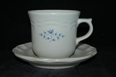 SET of 3 - Pfaltzgraff Poetry Matte USA Cup and Saucer