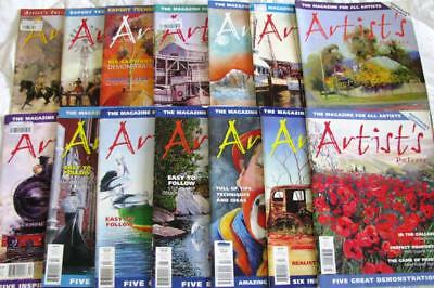 Australian Artists Magazines  -  14 Artist's Palette Publications