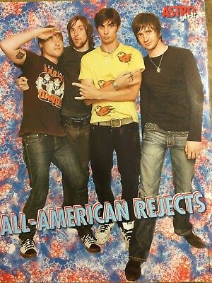 All-American Rejects, JoJo, Double Full Page Pinup