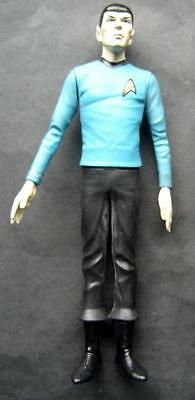 """1991 Star Trek SPOCK Posable Figure 11"""" Hamilton Gifts with Stand Base"""