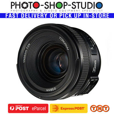 Yongnuo AF 35mm f2 Wide Angle Prime Lens for Nikon *Australia Local Stock*