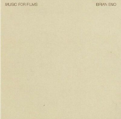 Brian Eno Music For Films CD NEW SEALED 2009