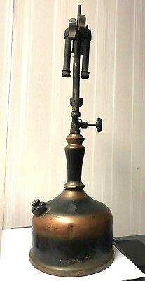 Vintage  Gas Table Lamp Lantern -  As Is