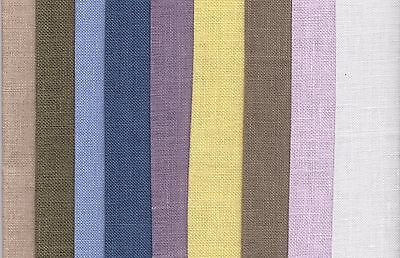 Grab Bag Linen Cross Stitch Fabric 125g of offcuts