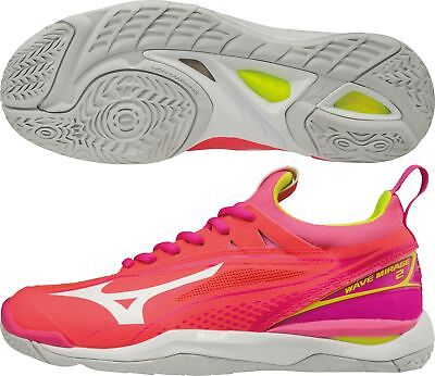 Mizuno Wave Mirage 2 Womens Netball Shoes - Pink