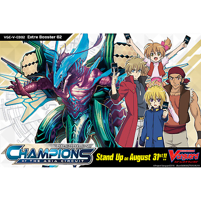 CARDFIGHT!! VANGUARD V * Extra Booster 02: Champions of the Asia Circuit Box