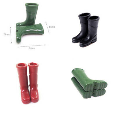 1/12 Dollhouse Furniture Miniature Rubber Rain Boot Living Room Art Floor Decor*