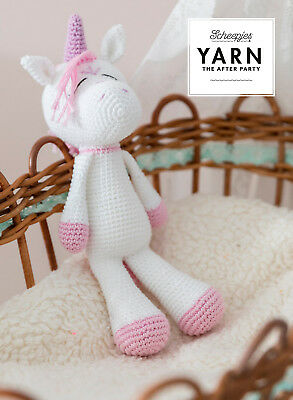Scheepjes Unicorn Amigurumi Crochet Kit Yarn & Pattern With / Without Zing Hook