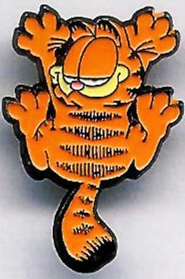 Beau Pin's Pin Pinback Bande Dessinee Chat Cat Garfield  Aux Griffes Griffure