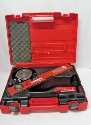 HILTI PL 11 Laser Level PA 130 Prism PA 110 Target Plate Levelling Plate PA 151