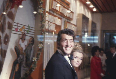 DEAN MARTIN & Wife Candid Original 35mm Transparency Slide Doctor Dolittle prem