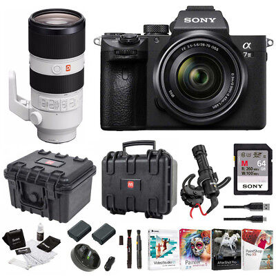 Sony α7 III Full Frame Mirrorless Camera with 28-70mm and 70-200mm GM Lens Kit