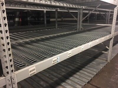 """DACS Punched Decking 30""""W - Used for 36"""" Deep Pallet Rack Shelves"""