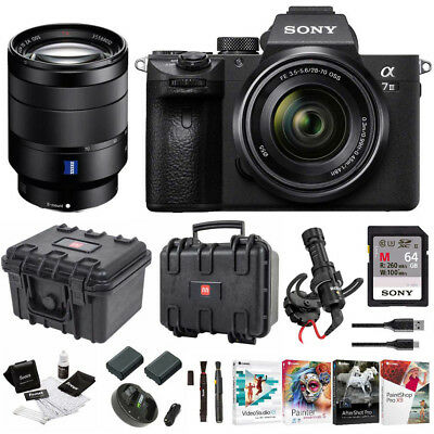 Sony α7 III Full Frame Mirrorless Camera with 28-70mm and 24-70mm F4 Lens Kit