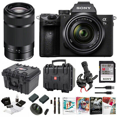 Sony α7 III Full Frame Mirrorless Camera with 28-70mm and 55-210mm Lens Kit