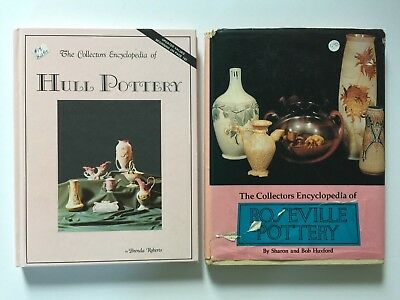 Lot 2 The Collectors Encyclopedia Roseville Pottery Huxford Hull Roberts Books