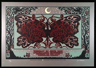 Robert Plant and Sensational Shape Shifters Poster 2018 SN 150 by Gary Houston