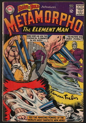 Brave and the Bold #57 1st Metamorpho SIGNED Ramona Fradon Cover & Art DC Comic