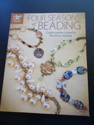 Four Seasons of Beading Paperback Book Annie's Attic 128 Pages 2009  New!