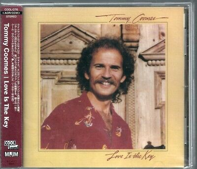 Tommy Coomes Love is The Key Japan CD w/obi sweet comfort band westcoast COOL076