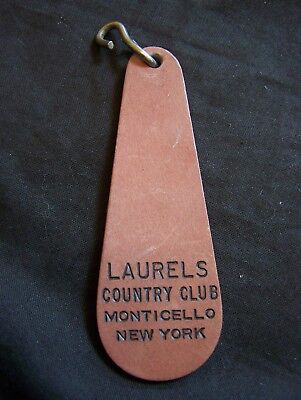 Vintage Laurels Country Club Monticello, New York Key Fob