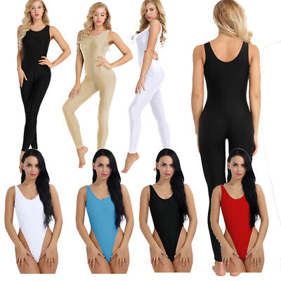b693bc1003be Women Lady Sexy Sleeve Romper Jumpsuit Stretchy Pants Long Bodysuit Club  Bodycon.  15.97 Buy It Now 27d 3h. See Details. Women s Sleeveless Sports  Unitard ...