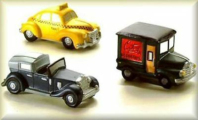 Dept 56 CIC ~ Automobiles Set of 3 ~ Mint In Box 59641