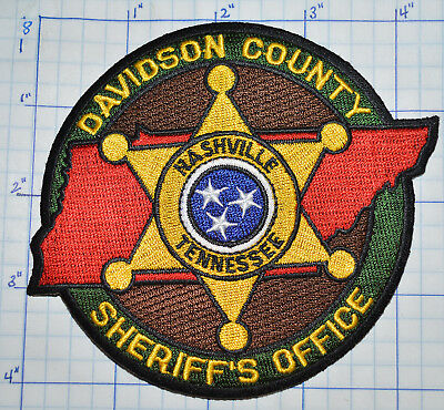 Tennessee, Davidson County Sheriff's Office Patch