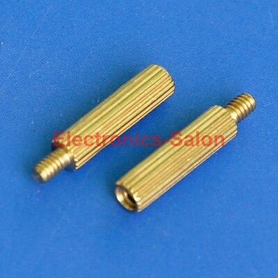 20pcs 12mm Threaded M2 Brass Male-Female Standoff, Spacer.