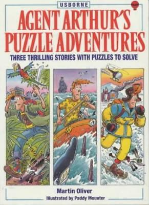 Agent Arthur's Puzzle Adventures,Martin Oliver, Gaby Waters