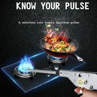 27CM Kitchen Gas Lighter Gun Long Windproof Fireplace Pulse Burner Fire Rod AU