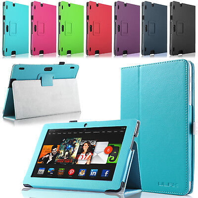 """for Amazon Kindle Fire HDX 8.9"""" Tablet Case-FOLIO LEATHER STAND SHOCKPROOF COVER"""
