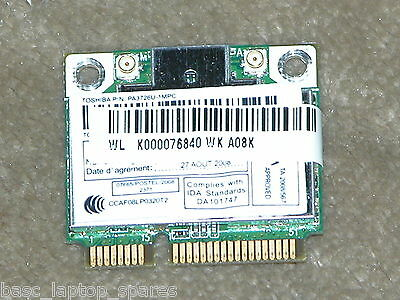 Toshiba Satellite L500 WIFI B/G/N Card P/N K000076840