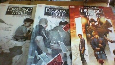 Dark Tower: Drawing of the Three : HOUSE OF CARDS, THE PRISONER, THE SAILOR Tpb