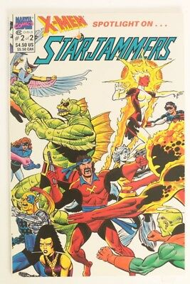 ESZ7396. X-MEN SPOTLIGHT ON STARJAMMERS #2 Marvel Comics 9.2 NM- (1990) (M)
