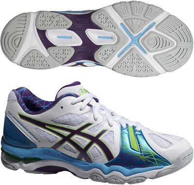 Asics Gel Netburner Super 5 Womens Netball Shoes - White