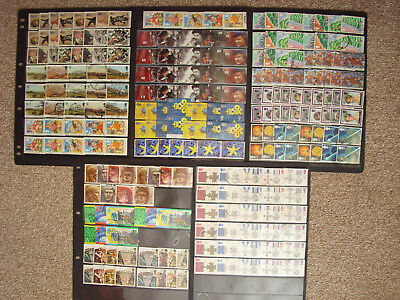 LOT#347w GB QEII COMMEMORATIVE STAMPS (Multiple Listing) ISSUED 1988-1998 USED
