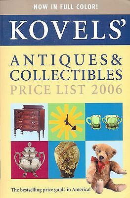 Kovel's-Antiques & Collectibles Price Guide-2006-851 Pages