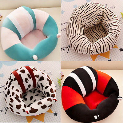 Baby  Sofa Support Seat Learning To Sit Plush Toy Travel Car Without Filler FG