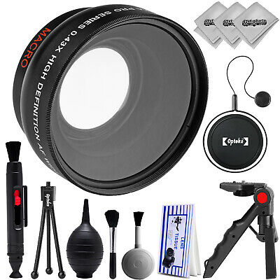 Opteka 0.43x High Definition Wide Angle/Macro Lens for Canon Digital SLR Cameras
