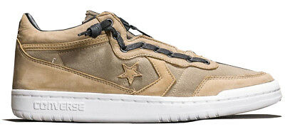 NEW CONVERSE ONE Star Fastbreak Mid Zip Sneaker Mens brown pale green all  sizes 453f08056
